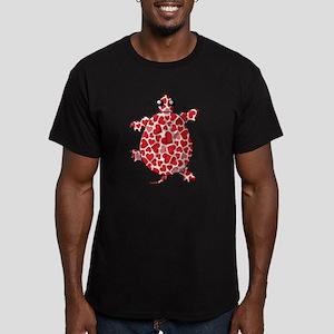 Valentine Men's Fitted T-Shirt (dark)