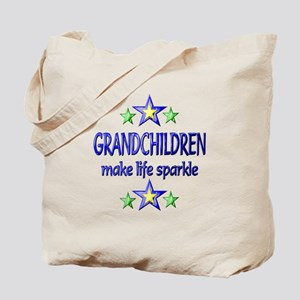 Grandchildren Sparkle Tote Bag