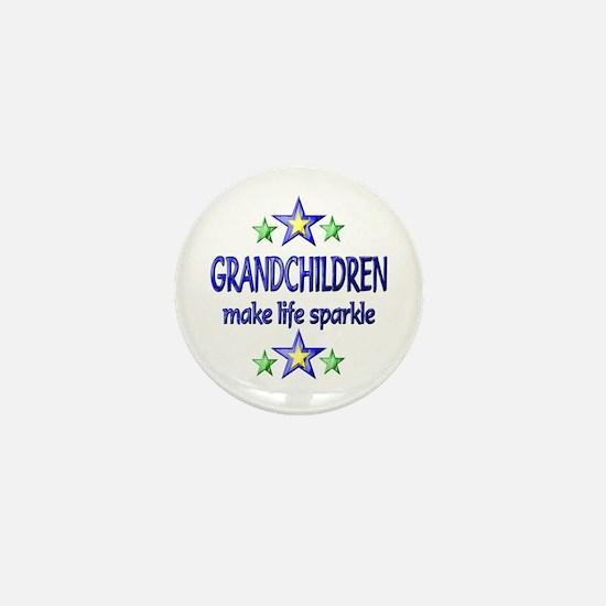 Grandchildren Sparkle Mini Button