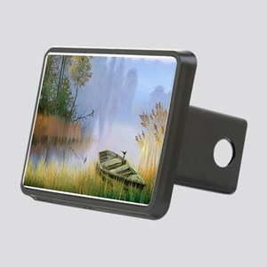 Lake Painting Hitch Cover