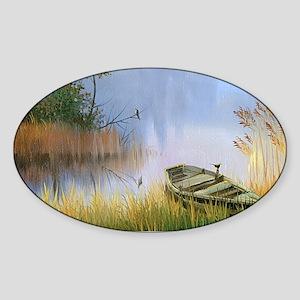 Lake Painting Sticker