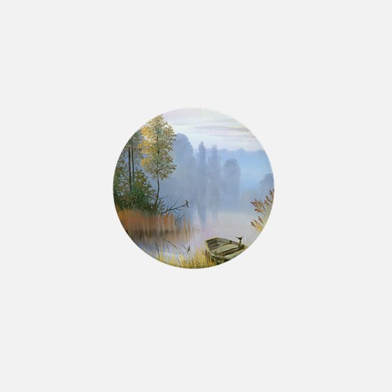 Lake Painting Mini Button