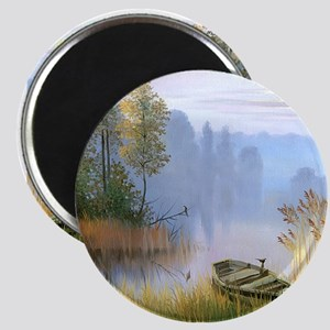 Lake Painting Magnets