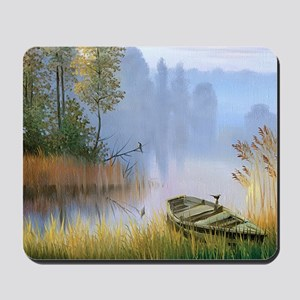 Lake Painting Mousepad