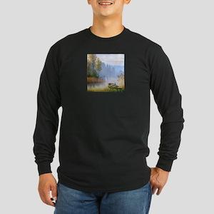 Lake Painting Long Sleeve T-Shirt