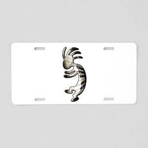 Music Keyboard Aluminum License Plate
