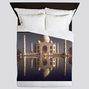 taj mahal gifts Queen Duvet