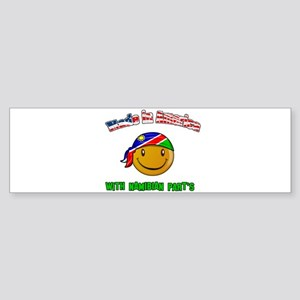 Made in America with Namibian Bumper Sticker