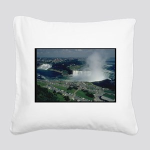 niagra falls gifts Square Canvas Pillow