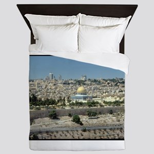 holy land gifts Queen Duvet