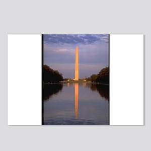 washington monument gifts Postcards (Package of 8)