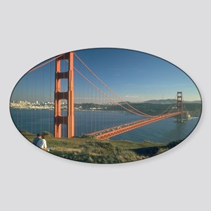 san franciso golden gate bridge gifts Sticker