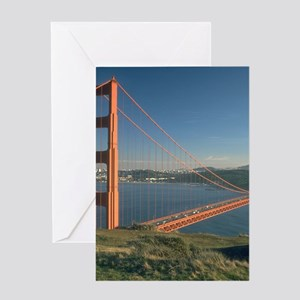 san franciso golden gate bridge gifts Greeting Car