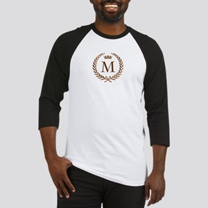 Napoleon initial letter M monogram Baseball Jersey