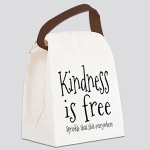Sprinkle Kindness Canvas Lunch Bag