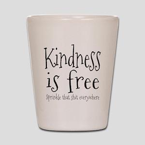 Sprinkle Kindness Shot Glass