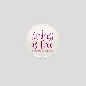 Sprinkle Kindness Pink Mini Button