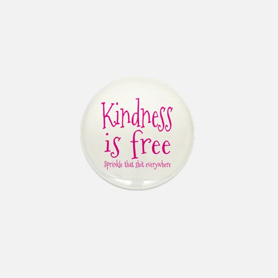 Sprinkle Kindness Pink Mini Button