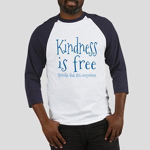Sprinkle Kindness Blue Baseball Jersey