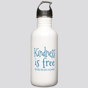 Sprinkle Kindness Blue Stainless Water Bottle 1.0L