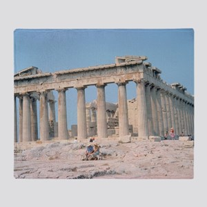 parthenon gifts Throw Blanket