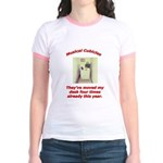Musical Cubicles Jr. Ringer T-Shirt