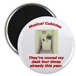 Musical Cubicles Magnet