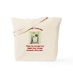 Musical Cubicles Tote Bag