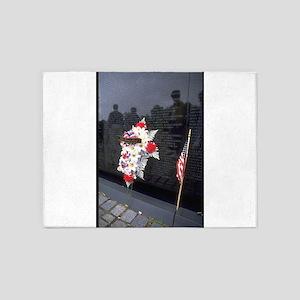 vietnam memorial gifts 5'x7'Area Rug