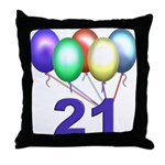 21 Gifts Throw Pillow