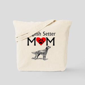 English Setter Mom Tote Bag