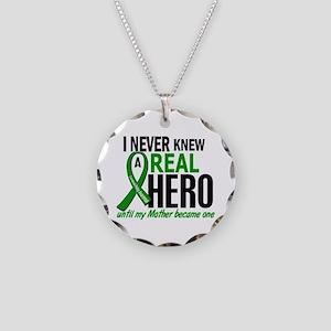 Cerebral Palsy Real Hero 2 Necklace Circle Charm