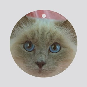 Siamese Cat gifts Ornament (Round)