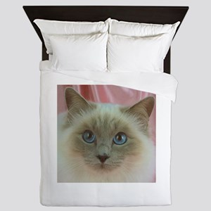 Siamese Cat gifts Queen Duvet