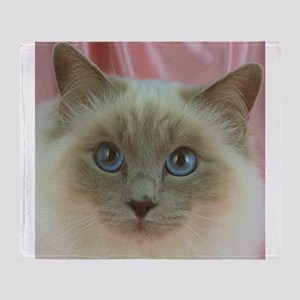 Siamese Cat gifts Throw Blanket