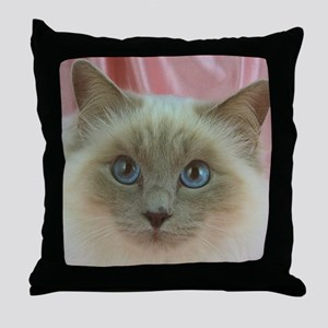 Siamese Cat gifts Throw Pillow