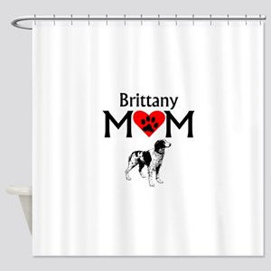 Brittany Mom Shower Curtain