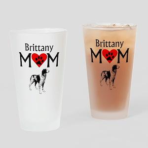 Brittany Mom Drinking Glass