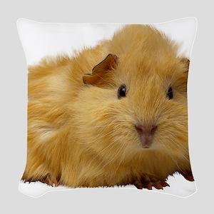 Guinea Pig gifts Woven Throw Pillow