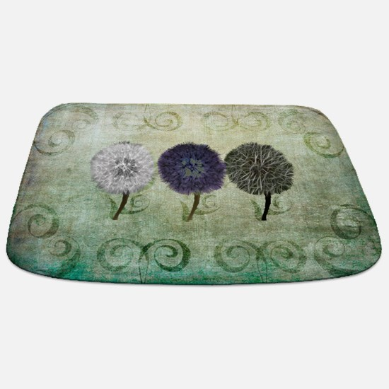 Digital Study of Dandelions Bathmat
