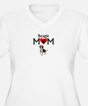 Beagle Mom Plus Size T-Shirt