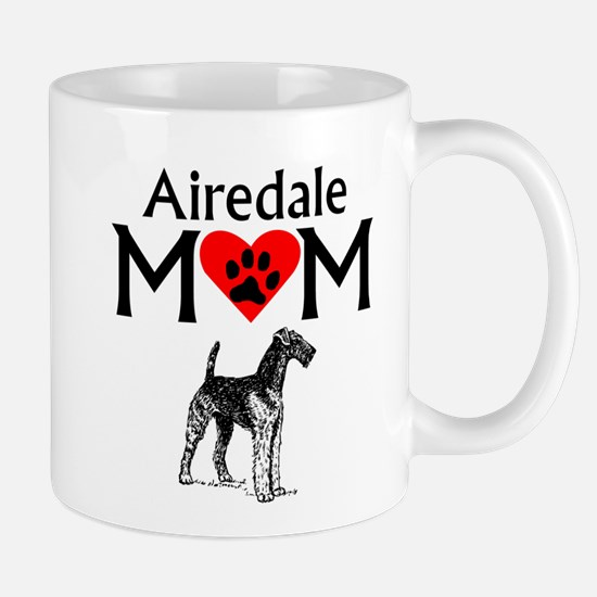 Airedale Mom Mugs