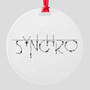 synchro round ornament