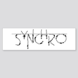 Synchro Bumper Sticker
