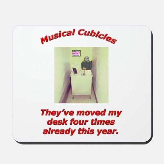 Musical Cubicles Mousepad