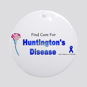 Huntington Cure Ornament (Round)
