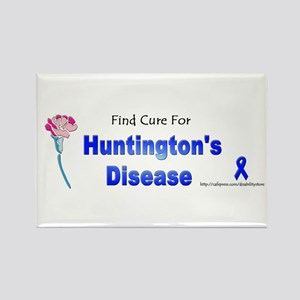 Huntington Cure Rectangle Magnet