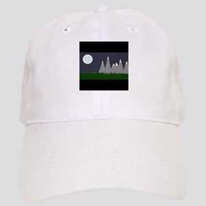 Moon Mountains Baseball Cap