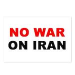 8 No War On Iran Postcards at cost
