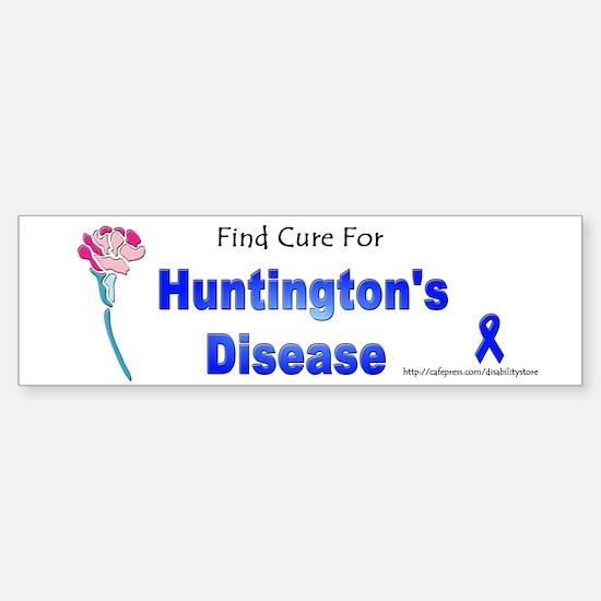Huntington Find Cure Bumper Bumper Bumper Sticker